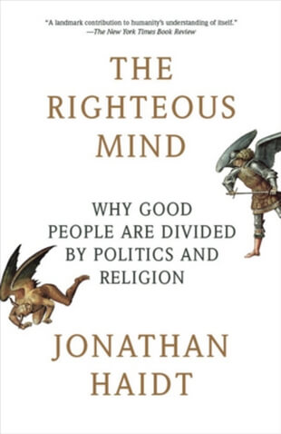 Rightteous mind book cover